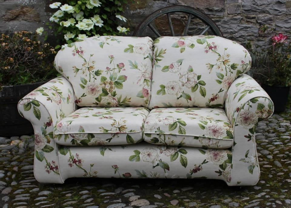 landsdowne cotton florale cretonne polster vorhangstoffe in englischen landhausstil. Black Bedroom Furniture Sets. Home Design Ideas